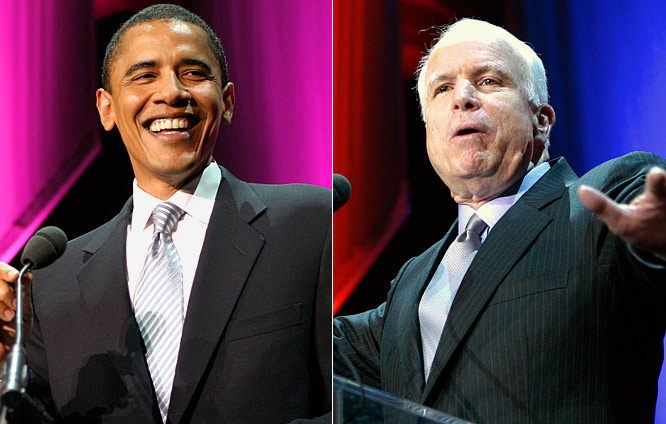 "It's nice that Senators Obama and McCain had their priorities in order on the heels of Election Day. After chatting about sports during halftime of ""Monday Night Football,"" both candidates did the same for SI.com. After all, who wants to hear about economic problems when we have a college football playoff to figure out?"