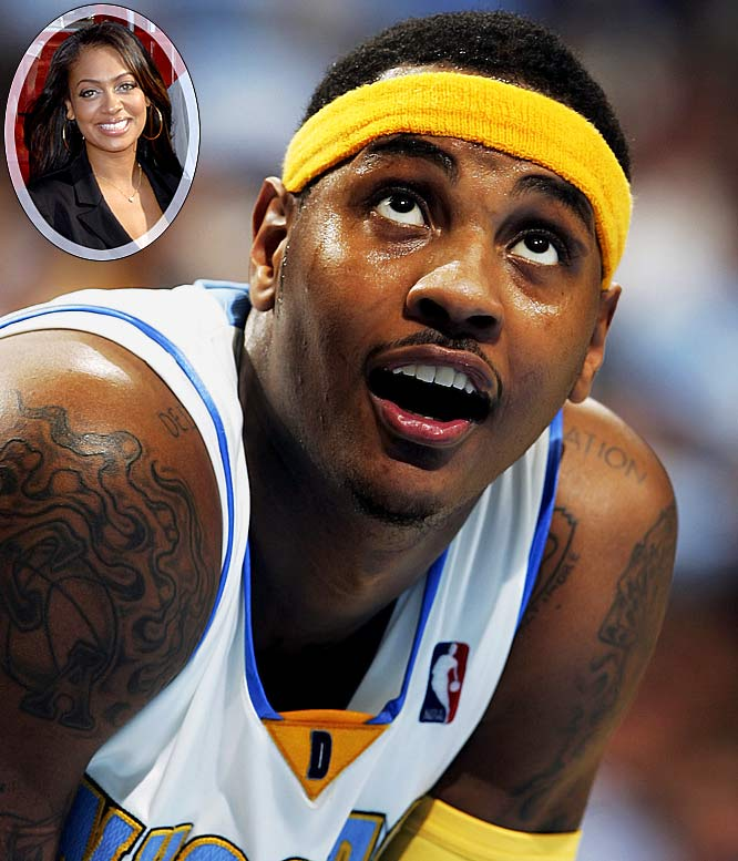 """'Melo has ditched his signature cornrow hairstyle this year in favor of a clean-cut look, which shouldn't be too hard to maintain considering his latest business venture. Anthony recently opened up a new barbershop, Studio 15, in downtown Denver. """"I always wanted one,"""" he says. """"We've got the works."""" The real reason Anthony cut his hair, however, was that he lost a bet to a friend while playing """"NBA Live"""" at his house. Video of the bet and Anthony's subsequent haircut were posted on YouTube and shows Anthony's girlfriend and MTV veejay LaLa Vazquez enjoying her man's new look. Now if he can only get the new-look Nuggets to play well."""