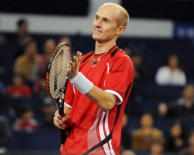 """On match point I was thinking, If I lose, this would be a bad day for me,'"" Davydenko said."