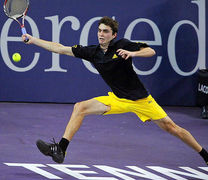 Ever-improving, Simon covered the court well against Federer and ripped his seventh ace on match point.