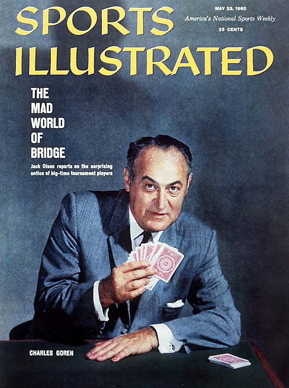 Poker may be all the rage now, but in May 1960, Americans were playing bridge and admiring one of the nation's top players, Charles Goren.
