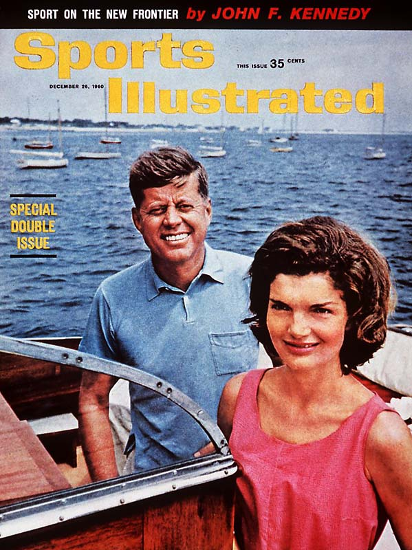In December 1960, as John F. Kennedy was about to take office, SI featured the president-elect (pictured here with wife, Jacqueline) on the cover with his thoughts on the importance of physical fitness.