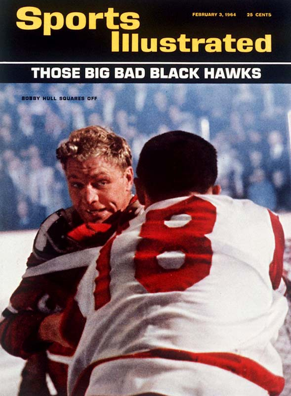 Everyone loves a hockey fight, and in 1964, few players were tougher than Bobby Hull and the rest of the big, bad Blackhawks.