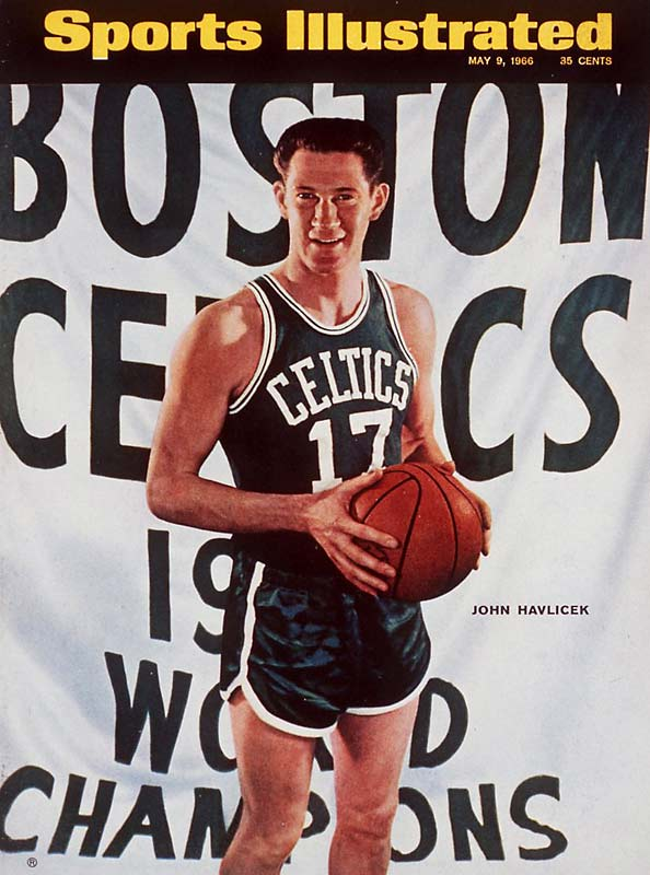 "Drafted by the Celtics and the NFL's Cleveland Browns out of Ohio State, John Havlicek revolutionized the sixth man role in the NBA and, according to Red Auerbach, was ""the guts of the team."" A 13-time All-Star, Havlicek played the fourth-most games in league history."
