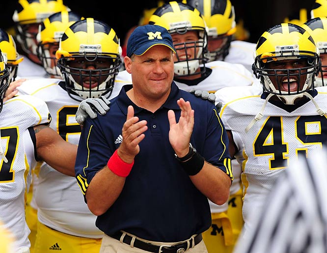We're all for moving up. But you signed a long-term deal in West Virginia, bolted for Michigan less than a year later and then tried to back out of paying the price? And now, after the worst year ever in Ann Arbor, you knuckle-slap the fans? Maybe it's you that ought to be looking for a life, Rich.