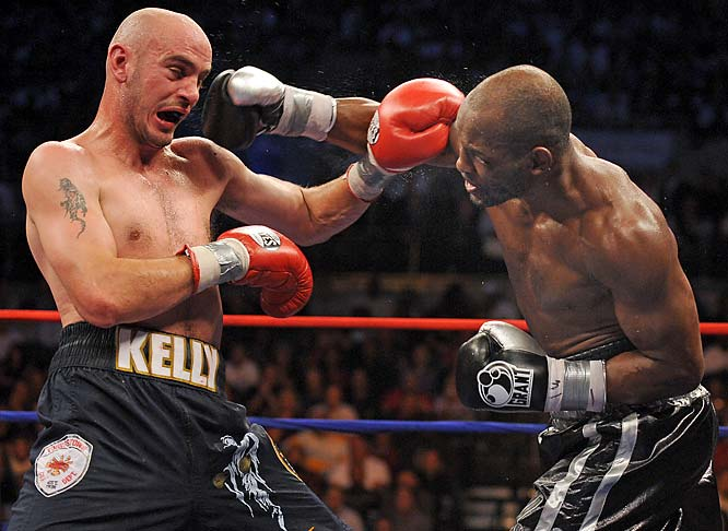 The 43-year-old Bernard Hopkins has always been a talker. And he when he decided to face one of the pound-for-pound bests, Kelly Pavlik, many thought the aging boxer couldn't support his swagger. But after lasting all 12 rounds, Hopkins did the unthinkable: he defeated Pavlik by unanimous decision in October.