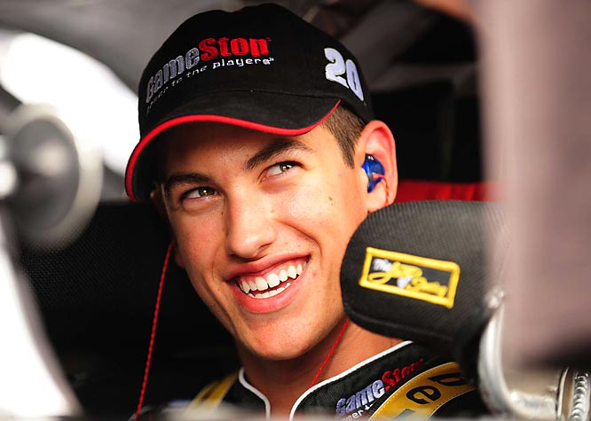 After notching 10 top-10 finishes, two poles and one win in the NASCAR Nationwide Series, Joey Logano was introduced by Joe Gibbs Racing as the replacement for Tony Stewart, who left at season's end to drive for his own team. At just 18, Logano is the youngest modern-era driver to compete in NASCAR's top division.