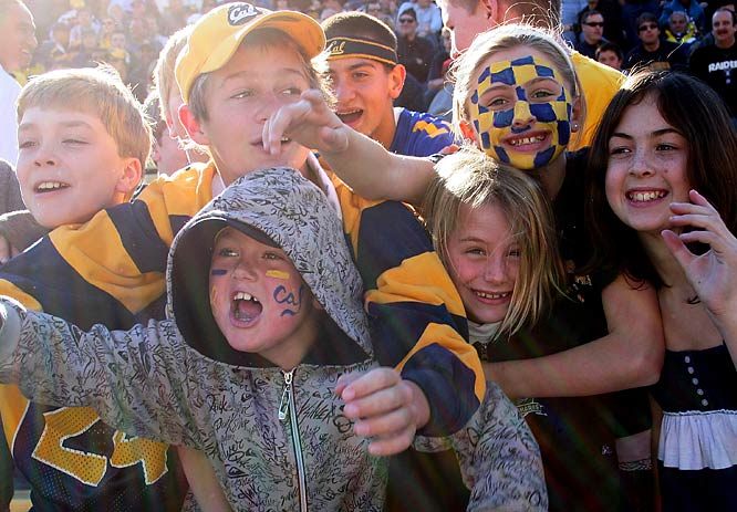 Hopefully this bashing of the winless Washington Huskies won't spoil these young, impressionable Cal fans.