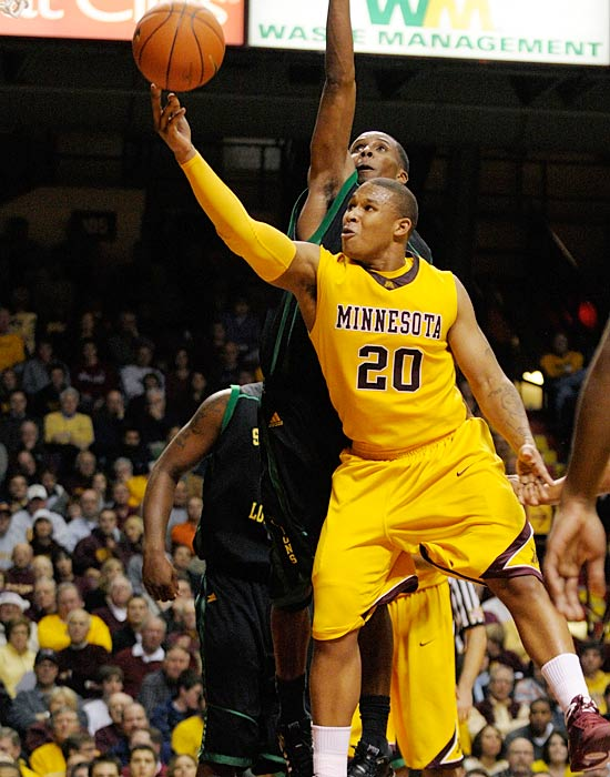 Lawrence Westbrook (pictured) and the Gophers have shocked the Big Ten with an early jump out to a 12-0 record while a loaded-Michigan State team shocked Texas last week -- which one will start their Big Ten season off right?