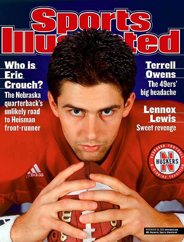By November, however, SI got back on track with the feature on Heisman frontrunner Eric Crouch. This prediction proved to be correct as the Nebraska QB became the third Cornhusker to win the Heisman, joining Johnny Rodgers (1972) and Mike Rozier (1983).<br><br>Send comments to siwriters@simail.com