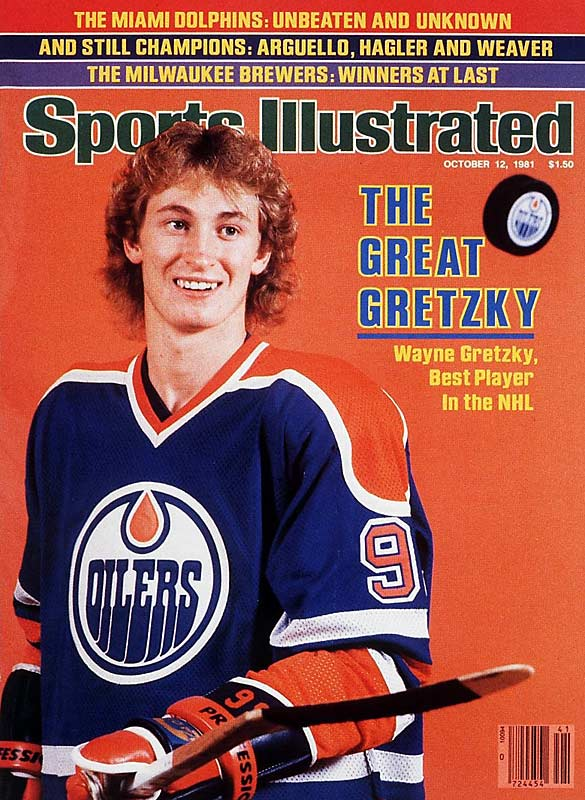 Wayne Gretzky sets a NHL record by reaching the 50-goal mark for a single season faster than any other player (39 games). He would go on to score 92 goals and record 212 points for the season.