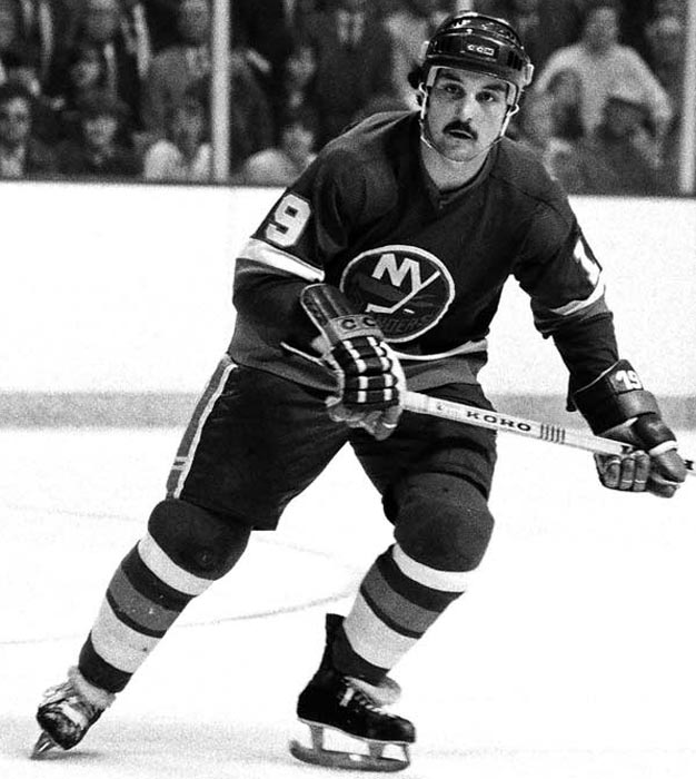 In a 9-4 victory over the Rangers, the Islanders score seven goals in one period. The barrage was led by Bryan Trottier, who recorded eight points in the game.