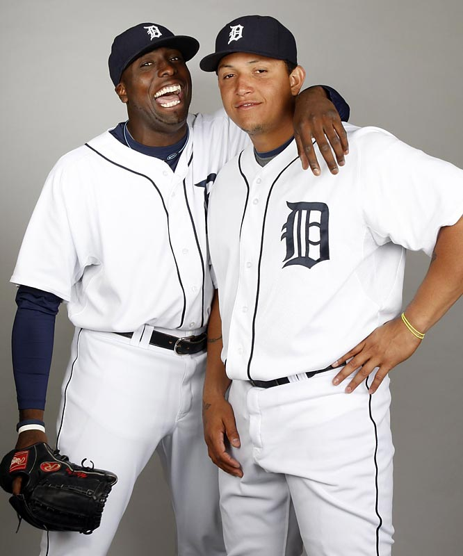 In an unexpected blockbuster trade at the winter meetings, the Tigers acquire Miguel Cabrera and Dontrelle Willis from the Marlins in exchange for six prospects, including southpaw Andrew Miller, outfielder Cameron Maybin and four other highly regarded minor leaguers.