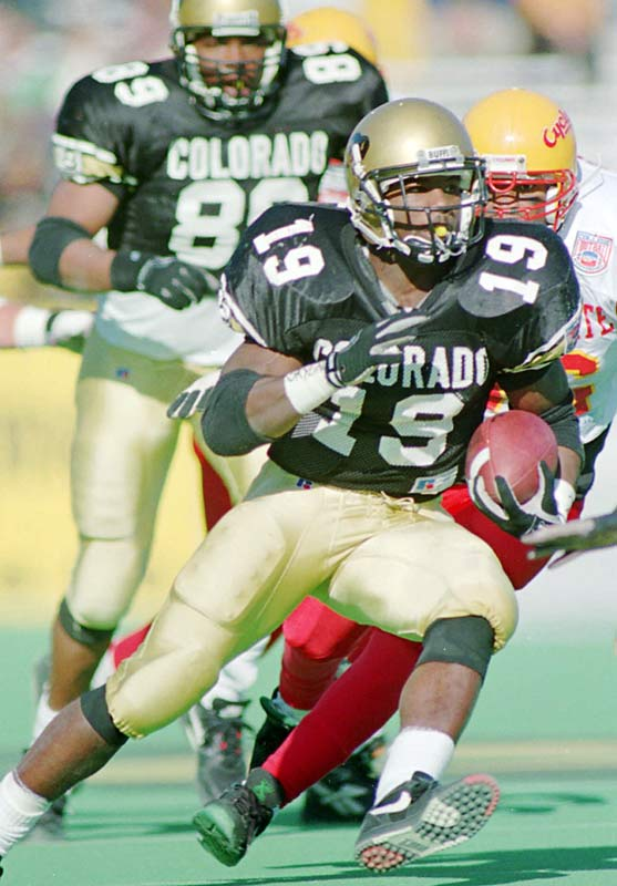 Colorado RB Rashaan Salaam wins the Heisman Trophy, beating out Penn State's Ki-Jana Carter, Alcorn State's Steve McNair and Penn State's Kerry Collins.