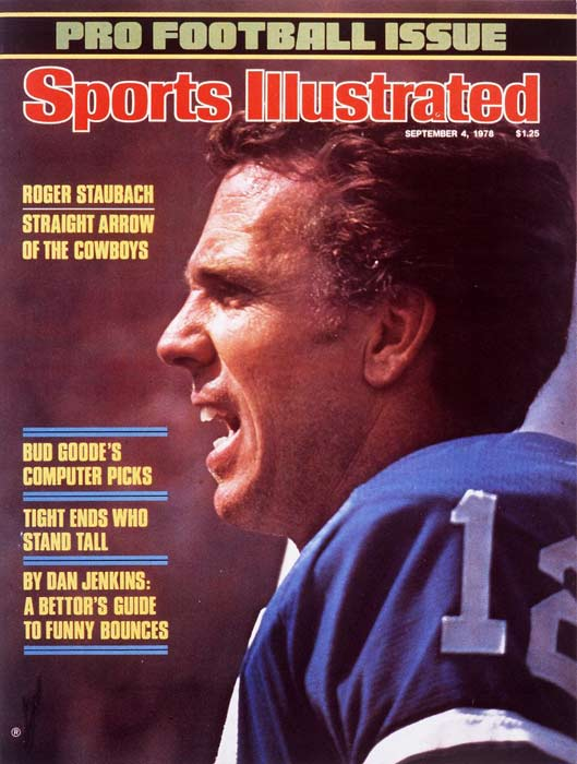 Dallas' Roger Staubach plays his final regular season game, against the Redskins. The Cowboys came from behind to win the game, 35-34, in the last five minutes.