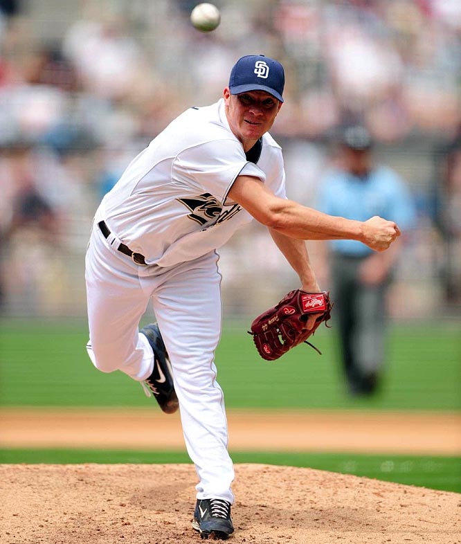 The 2007 NL Cy Young award winner has been at the center of trade rumors throughout the offseason. First linked to the Braves, and then to the Cubs (both of whom later complained about Kevin Towers' handling of negotiations), Peavy would be an instant ace on any club willing to pay the hefty price tag in prospects.