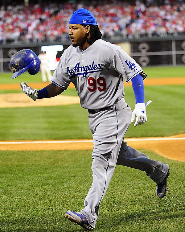 """Despite carrying Los Angeles to the postseason and an NLCS berth in his first season in Dodger Blue, Manny Ramirez hasn't found a team yet. According to a Newsday article from Dec. 12, Ramirez is """"growing extremely upset about the lack of suitors for his services, so much so that he has told friends he would contemplate retirement if a suitable offer doesn't arrive soon."""""""
