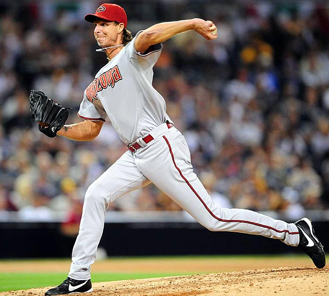 At 45, the five-time Cy Young award winner is five victories away from the 300-win plateau, meaning he could give an attendance boost to whichever team he signs with as he chases that milestone. The Big Unit, who's second on the all-time strikeouts list, notched 10 wins last season for the Diamondbacks, and fell just short of averaging a strikeout per inning.