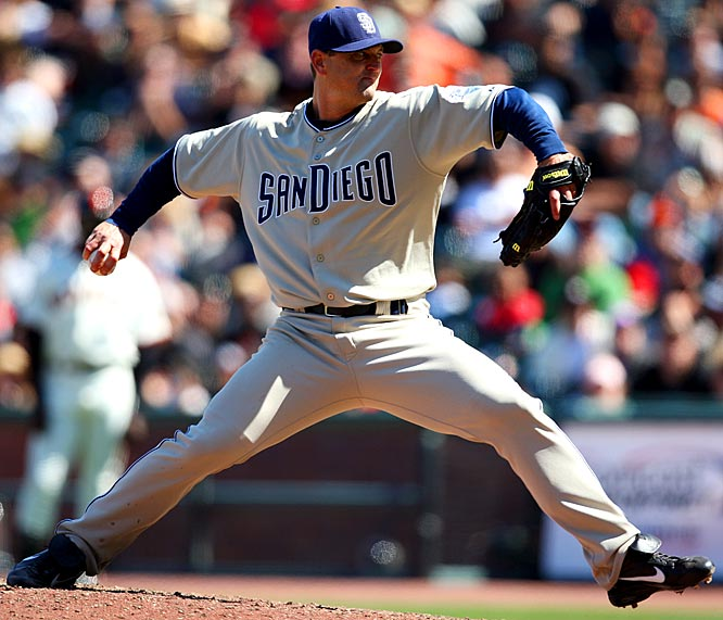 Major League Baseball's all-time saves leader, Hoffman has played his entire career in a Padres uniform. San Diego president Sandy Alderson recently said the door isn't closed on Hoffman's return, but the big righty is exploring a number of options, including set-up jobs that could bolster the bullpens of a number of contenders.