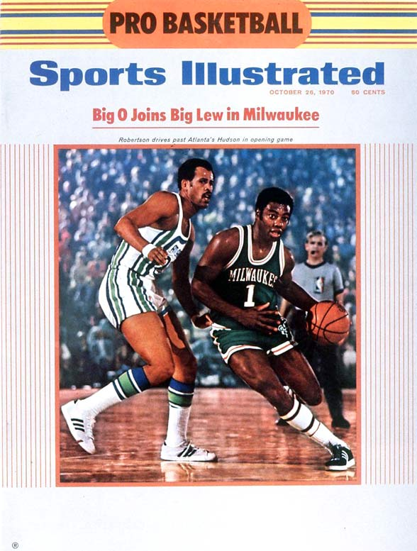 A year before the Lakers won 33 in a row, the Bucks set the NBA record with a 20-game winning streak thanks in large part to second-year center Kareem Abdul-Jabbar (then named Lew Alcindor) and 32-year-old guard Oscar Robertson, who was acquired from the Cincinnati Royals before the 1970-71 season. Abdul-Jabbar averaged a league-leading 31.7 points in the regular season, and then claimed the first of his six NBA titles.