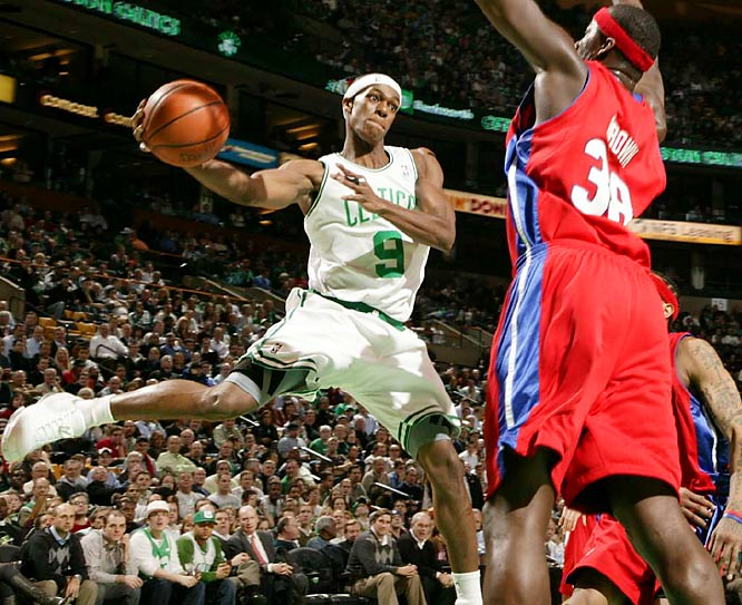 The streak lifted the Celtics to the best start in franchise history. They did it with balance among their three stars (Ray Allen, Paul Pierce and Kevin Garnett are averaging between 16 and 19 points), solid play from the James Posey-less bench and the continued development of point guard Rajon Rondo, whom Boston continues to push as an All-Star candidate.