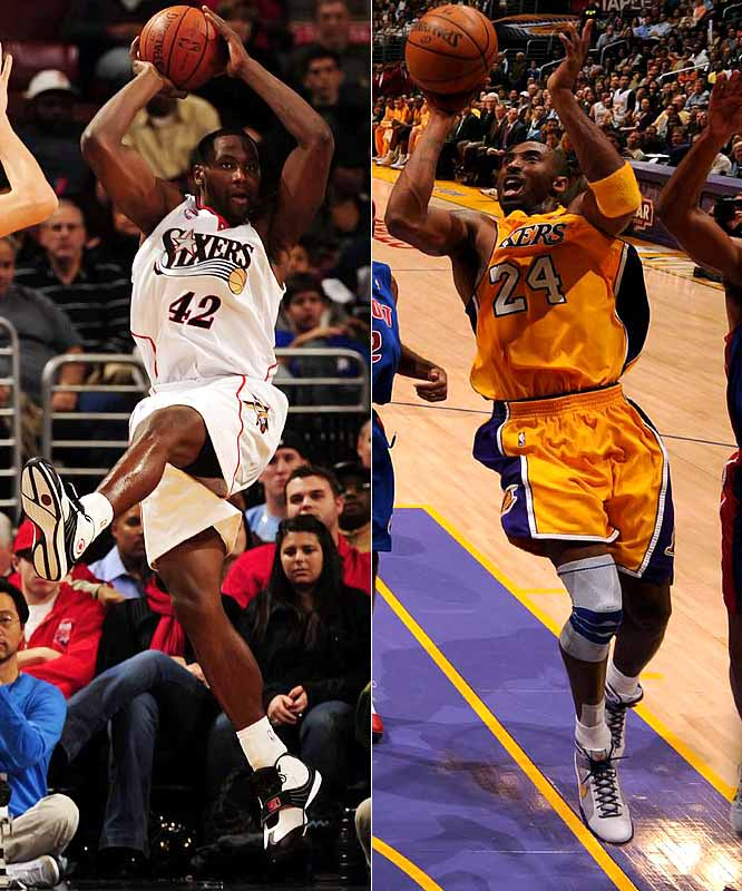 The Sixers have been an early disappointment, struggling to play .500 basketball after adding Elton Brand in the offseason. Beating the Lakers would be a big confidence-builder. Kobe Bryant figures to be primed for this matchup; he attended a Philadelphia-area high school and relishes his return there even though (or perhaps because) he always gets booed roundly.