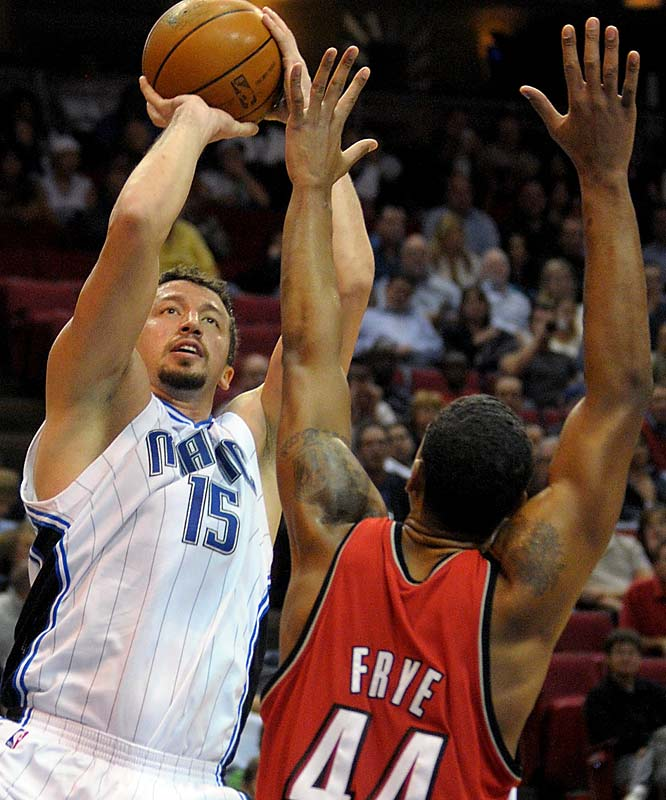 This launches a stretch for Portland in which it plays 11 of 14 games at home, where it has yet to lose this season (7-0). The Magic, one of the league's best road teams, will seek to avenge last month's 106-99 loss to the Blazers in Orlando, where Portland overcame Hedo Turkoglu's 35 points and Dwight Howard's 29 points and 19 rebounds while playing without an injured Greg Oden.