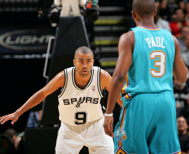 The Western contenders meet for the first time since San Antonio won Game 7 of last season's conference finals series in New Orleans. With Tony Parker and Manu Ginobili having returned from ankle injuries, the Spurs were riding a six-game winning streak entering this visit to the Big Easy.