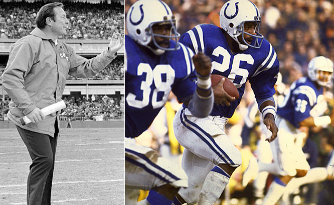 Despite a 1-4 start, the Colts, led by new head coach Ted Marchibroda and running back Lydell Mitchell, reeled off nine consecutive wins to close out the '75 campaign and win the AFC East.