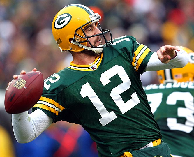 The Packers may have seen their playoff hopes go up in smoke, but at least they're confident in their future at quarterback. Rodgers threw three touchdown passes for the third time this season and came two yards shy of the 300-yard mark.