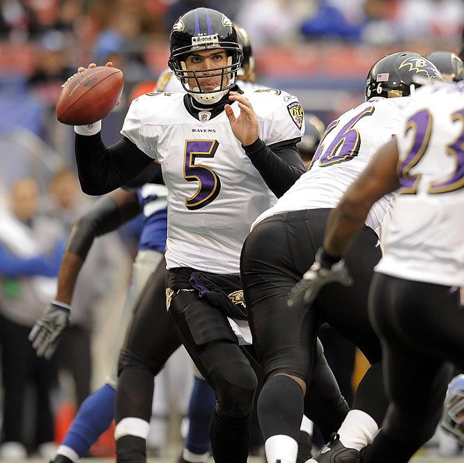 The battle of youth versus experience moves front and center as Super Bowl champion quarterbacks like Kurt Warner, Eli Manning and Ben Roethlisberger compete with rookie Joe Flacco.