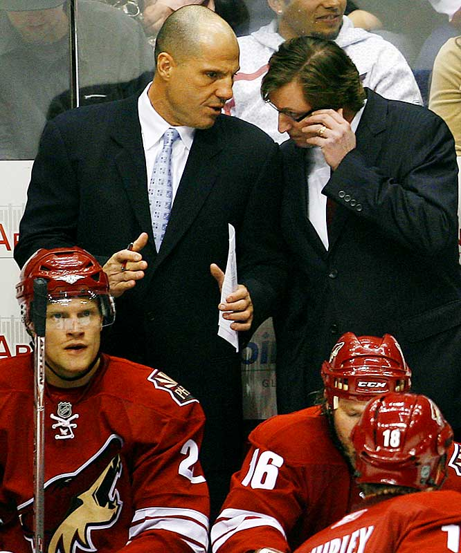 Suspended for two years for his involvement in a New Jersey gambling ring that dragged the names of Wayne Gretzky and his wife Janet Jones into the mud, Tocchet returned to his post as an assistant coach with the Phoenix Coyotes on Feb. 7. By December, he was the bench boss of the Tampa Bay Lightning.