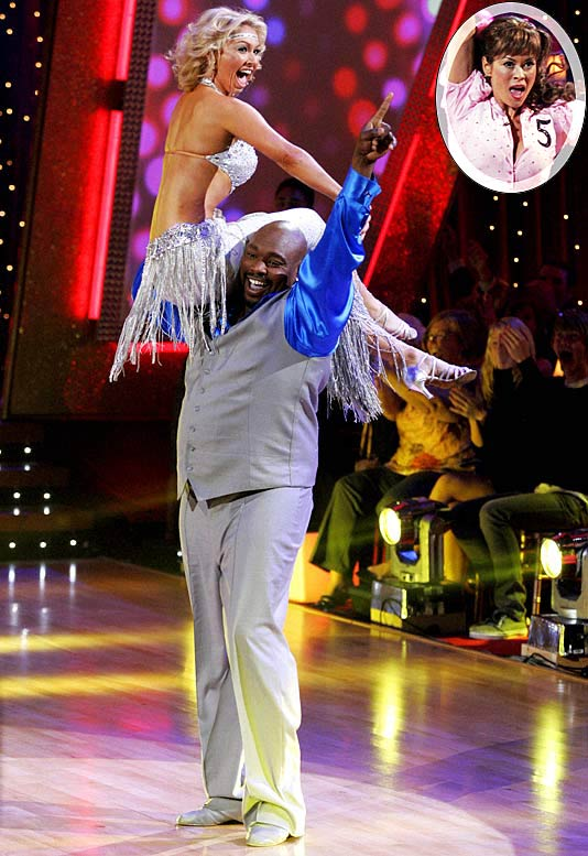 "Sapp's dream of winning Dancing with the Stars and the shiny disco ball trophy that goes with it fell just short as the former Super Bowl champion finished second to model/actress Brooke Burke. ""I'm just glad I didn't do any disrespect to the football guys out there,"" said Sapp. Well, outside of being nicknamed the Twinkle-Toed Teddy Bear by his partner, Kym Johnson, and nearly getting into a fight with another dancer, he did a good job."