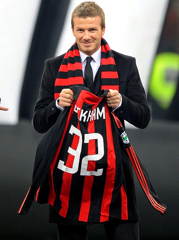 "Becks is currently in Milan on a three-month loan, playing for AC Milan, and he said that he needs to be ""playing top-flight football"" and that he misses ""playing at the highest level."" Translation: I'm tired of playing in a league like the MLS and for a team like the Los Angeles Galaxy."