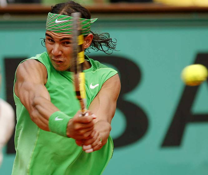 Rafael Nadal won his fourth consecutive French Open, defeating Roger Federer 6-1, 6-3, 6-0.