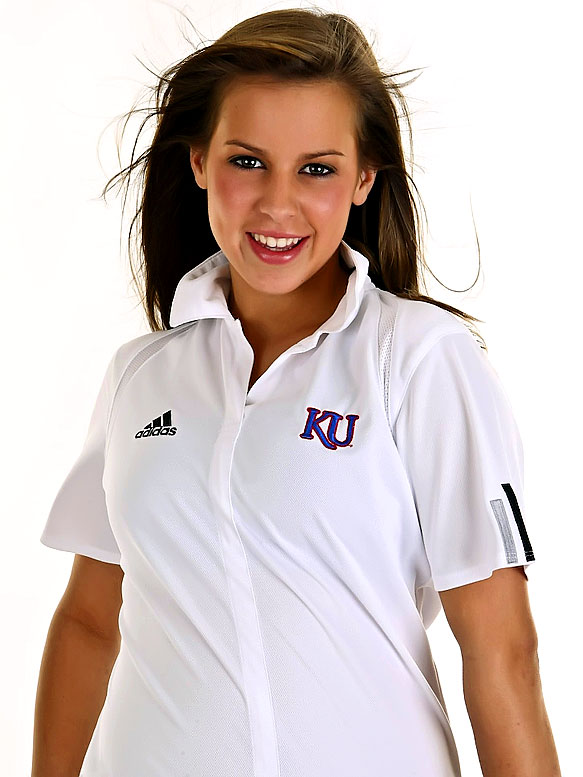 Meet Meghan, a University of Kansas sophomore and proud Jayhawks cheerleader. Meghan has a passion for traveling and loves the New York Yankees and Eva Longoria. <br>Want to find out more? <br>Click the '20 Questions' link below.