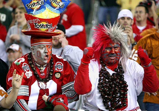 Even the biggest Tostitos hat out there couldn't scoop up a win for Ohio State.