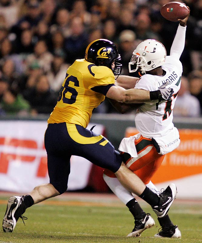 """In a matchup between two of the younger teams in bowl season, the """"home"""" team prevailed. Playing just 12 miles away from Memorial Stadium, Cal RB Jahvid Best truly jumpstarted his Heisman Trophy campaign for 2009 by running for 186 yards and two touchdowns on just 20 carries."""