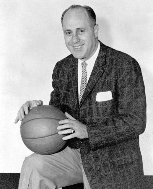 Boston's Red Auerbach records his 1,000th career victory when the Celtics beat the Lakers, 114-102.