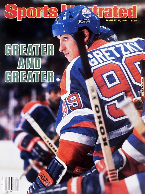 Wayne Gretzky sets a record for consecutive games with at least one point (51). The streak began on October 5, 1983.