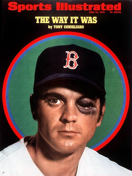 Cotton Fitzsimmons (1931)  Tony Conigliaro (1945, pictured)  Bobby Hamilton (1971)  Donald Brashear (1972)  Bobby Engram (1973) Eric Gagne (1976)  Alfonso Soriano (1976) Kevin Mench (1978)  Alex Auld (1981)  Marquis Daniels (1981)  Francisco Rodriguez (1982)  Natalie Gulbis (1983)  Jon Lester (1984)
