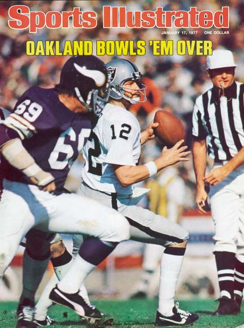 The Oakland Raiders defeat the Minnesota Vikings, 32-14, for their first NFL championship. The game is played before a record Super Bowl crowd and seen by 81 million television viewers, the largest audience ever to watch a sporting event.