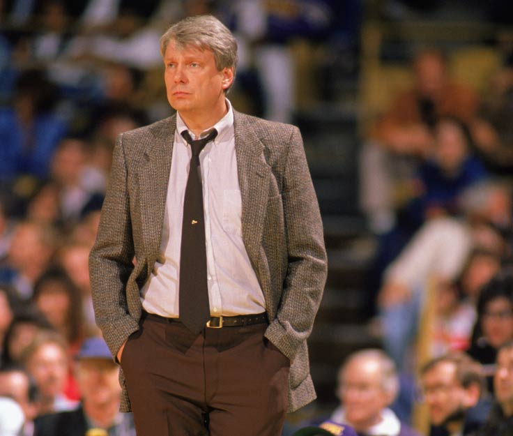 Golden State's Don Nelson becomes the second man in NBA history to appear in 1,000 games both as a player and a coach (joining Lenny Wilkens) when the Warriors lost to the Indiana Pacers, 144-105.