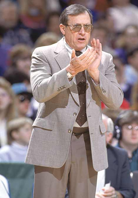 Sacramento's Dick Motta sets the NBA record for most regular season coaching appearances (1,648) when the Kings face the Rockets. Sacramento won 97-94.