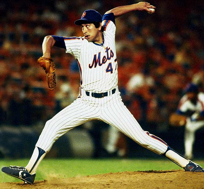 The left-handed relief ace pitched for 24 years in the majors -- finishing in 2003 at age 46 -- and holds the big league record for career pitching appearances (1,252). He pitched most notably for the Mets in the 1980s but also donned eight other uniforms and won a World Series with the Mets (1986) and the Dodgers ('88). His career totals include 144 saves and a 3.16 ERA.