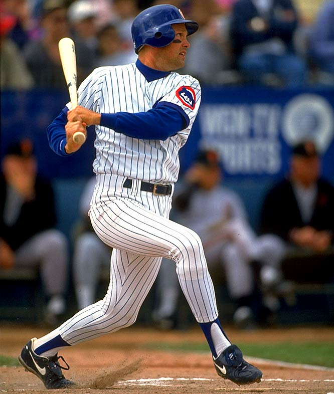One of the game's most consistent left-handed hitters, Grace racked up 2,445 hits, including 511 doubles, during his 16-year career as a first baseman for the Cubs (1988-2000) and Diamondbacks (2001-03). He had a career on-base percentage of .383 and won four Gold Glove awards. He also had the most hits (1,754) of any major leaguer in the 1990s and won a World Series ring with Arizona in 2001.