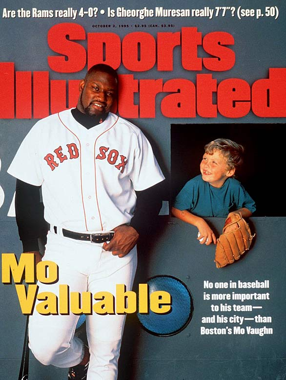 Greg Vaughn's cousin was a three-time All-Star and won the AL MVP award in 1995. In 12 seasons with three teams (Red Sox, Angels, Mets), the Hit Dog compiled a .293 average with 328 home runs and 1,064 RBIs. His best season came in 1996 with Boston, when he batted .326 with 44 homers and 143 RBIs. A knee injury ended his career at age 35.