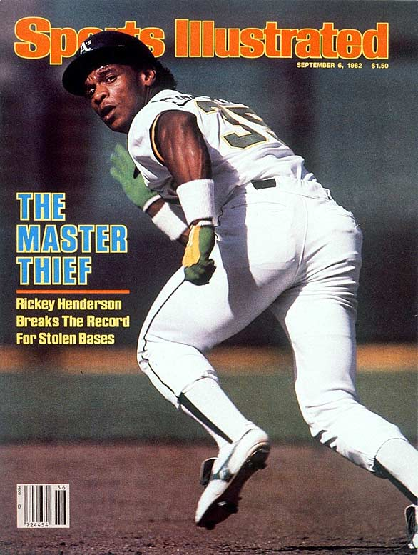 The all-time leader in runs (2,295) and stolen bases (1,406), Henderson established himself as baseball's premier leadoff hitter by banging out 3,055 hits in a 25-season career spanning four decades (1979-2003). It included four tours with the A's and stops with the Yankees, Blue Jays, Padres, Angels, Mets, Mariners, Red Sox and Dodgers. A career .279 hitter with a .401 on-base percentage and 297 homers, Henderson was the AL MVP in 1990 and set the bar so high with the single-season stolen base record (130 in 1982) that no player has come within 20 of equaling it.