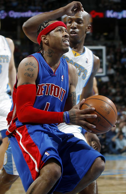 In a rare November blockbuster, Denver sent Allen Iverson to Detroit for Chauncey Billups. While the Pistons have been up and down since the trade, Billups has helped turn the Nuggets into one of the NBA's most surprising success stories. Denver is leading the Northwest Division even after dealing Marcus Camby to the Clippers in a salary dump last offseason.