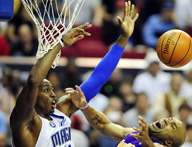 With Dwight Howard anchoring an improved defense, Jameer Nelson blossoming into an All-Star candidate and a bevy of shooters giving defenses fits, the Magic have emerged to join Cleveland and Boston in the race for the Eastern Conference's best record. In a stretch that punctuated its arrival as a serious contender, Orlando recently beat the Spurs, Lakers and Nuggets during a 4-0 road trip against Western Conference teams.